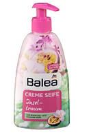 Жидкое мыло для рук с дозатором Balea Creme seife Inseltraum фрезия и маракуя