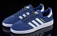 Кроссовки мужские Adidas s Spezial (navy/white) - 04z кроссовки