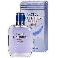 Lazell Platinum Sport EDT 100ml (туалетная вода) мужская /версия Azzaro Chrome Sport/