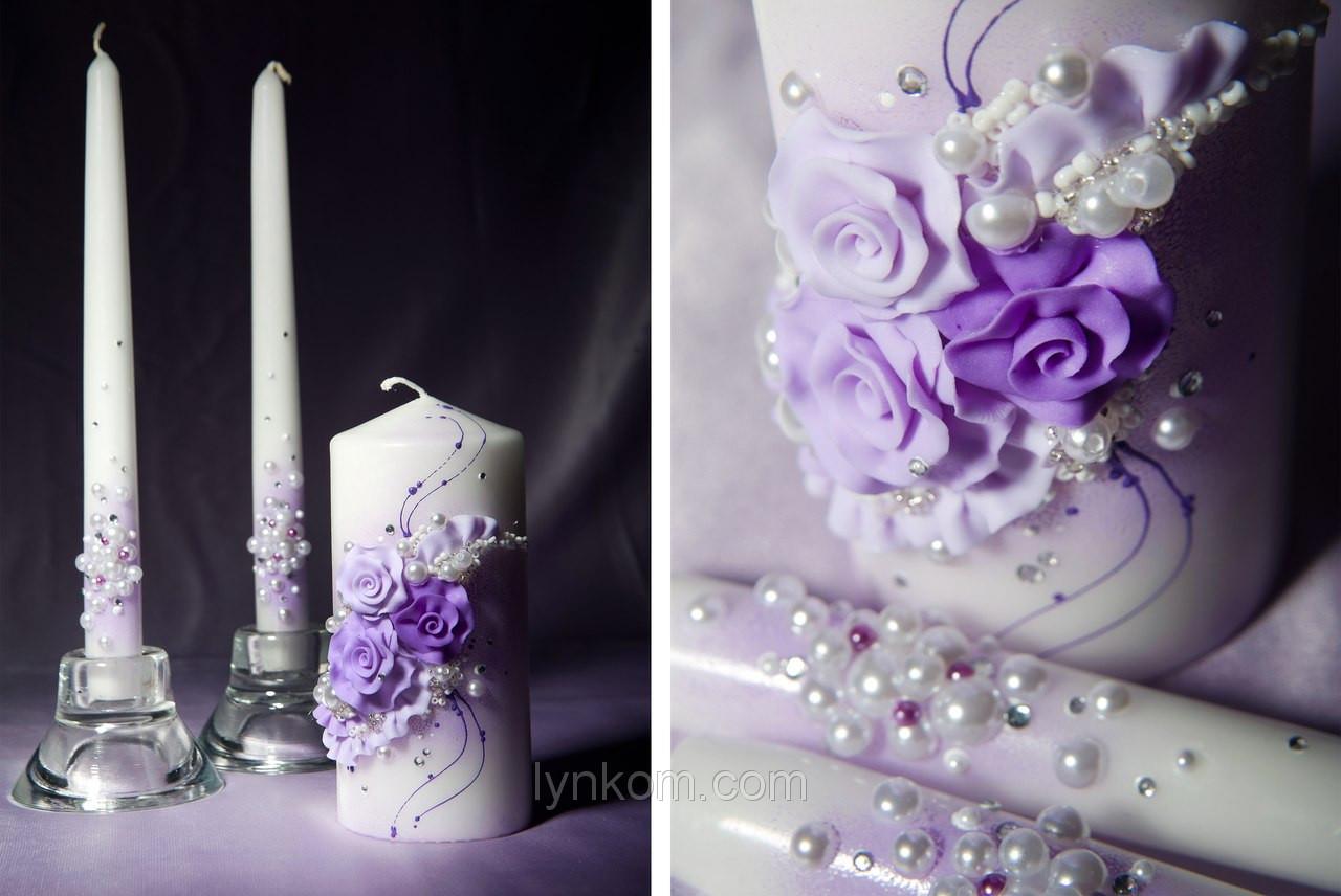 Набір весільних свічок Bispol 3 шт (СС103-040)