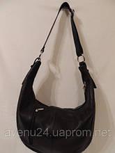 """Кожаная женская сумка в стиле """"Хобо"""" (Италия)"""
