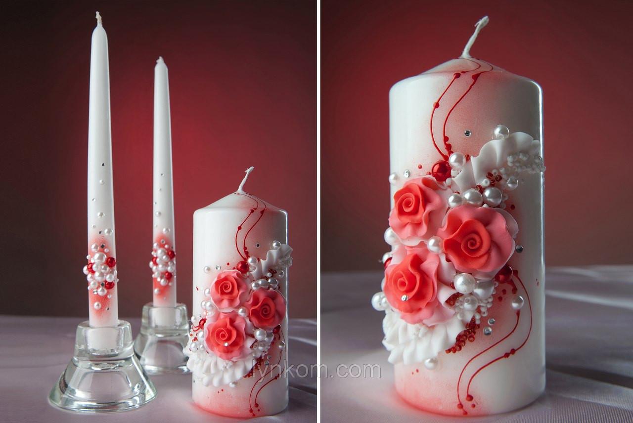 Набор свадебных свечей Bispol 3 шт (СC108-030)