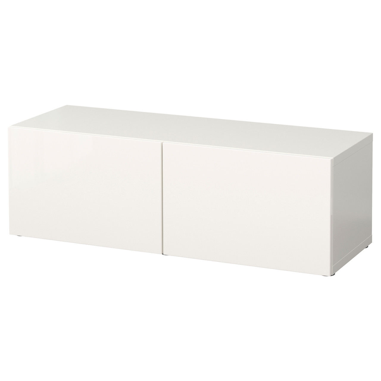 BESTÅ Шкаф с дверью, белый, Selsviken блеск/белый 890.474.43