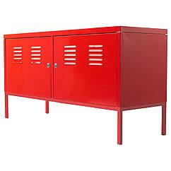 IKEA PS Шкаф, красный 801.001.90