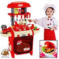 Игрушечная кухня с водой, кухня детская  - кухня со звуковыми и световыми эффектами