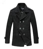 Мужское зимнее пальто. Стильное пальто.