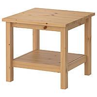 HEMNES Придиванный столик, светло-коричневый