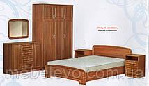Кровать К-140 Классика МДФ  140х200 800х1480х2030мм  Абсолют, фото 3