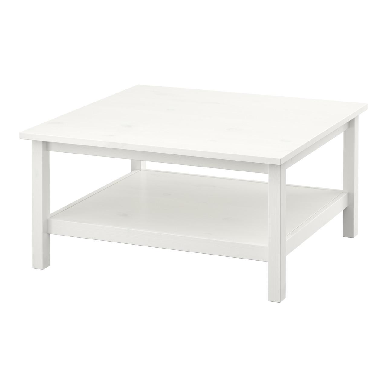 Журнальный стол IKEA HEMNES белая морилка белый 101.762.87