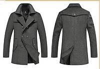 Мужское весеннее пальто. Стильное пальто. Модель 06., фото 4