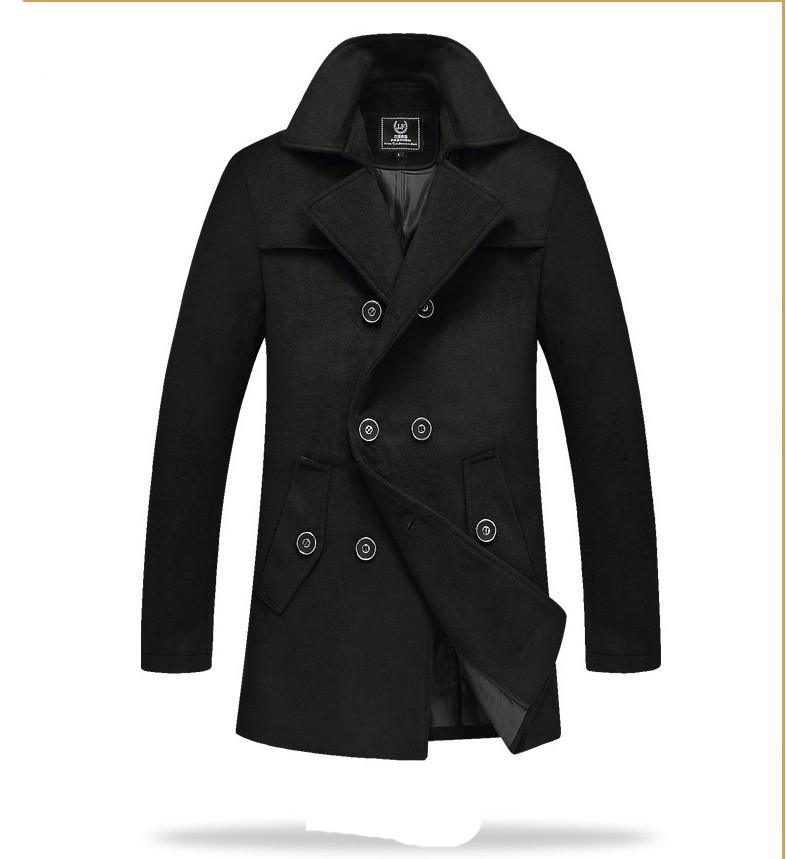 Мужское весеннее пальто. Стильное пальто. Модель 06.