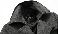 Мужское весеннее пальто. Стильное пальто. Модель 06., фото 5