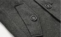 Мужское весеннее пальто. Стильное пальто. Модель 06., фото 8