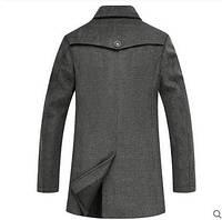 Мужское весеннее пальто. Стильное пальто. Модель 06., фото 2