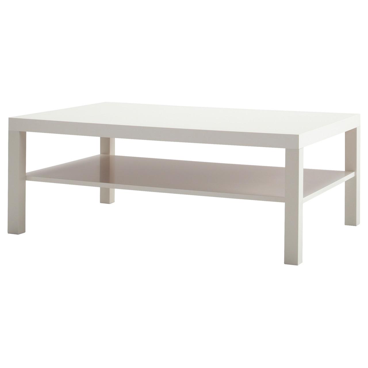 журнальный столик Ikea Lack белый 10065958 цена 1 328 грн