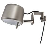 VARV Лампа с зажимом, серебристый