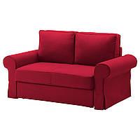 BACKABRO Чехол на 2-местный диван-кровать, Nordvalla красный