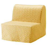 LYCKSELE MURBO Кресло-кровать, Валларум желтый