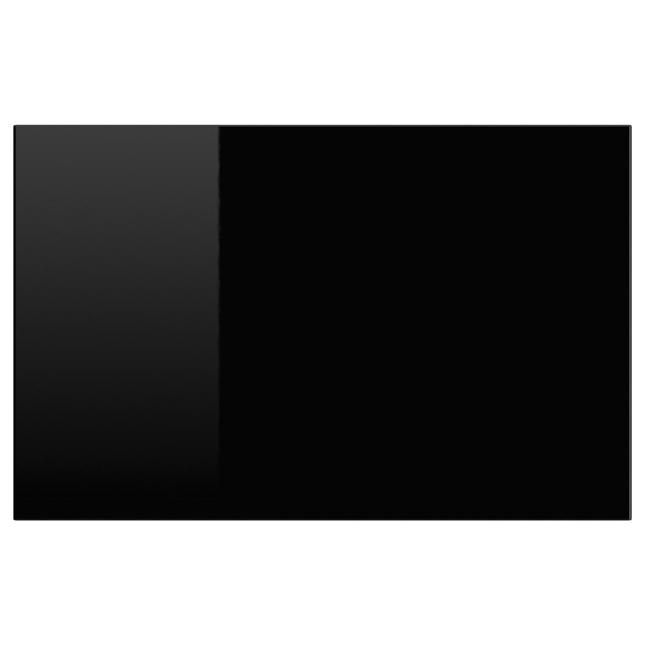 SELSVIKEN Drzwi/front szuflady, połysk czarny 502.916.24