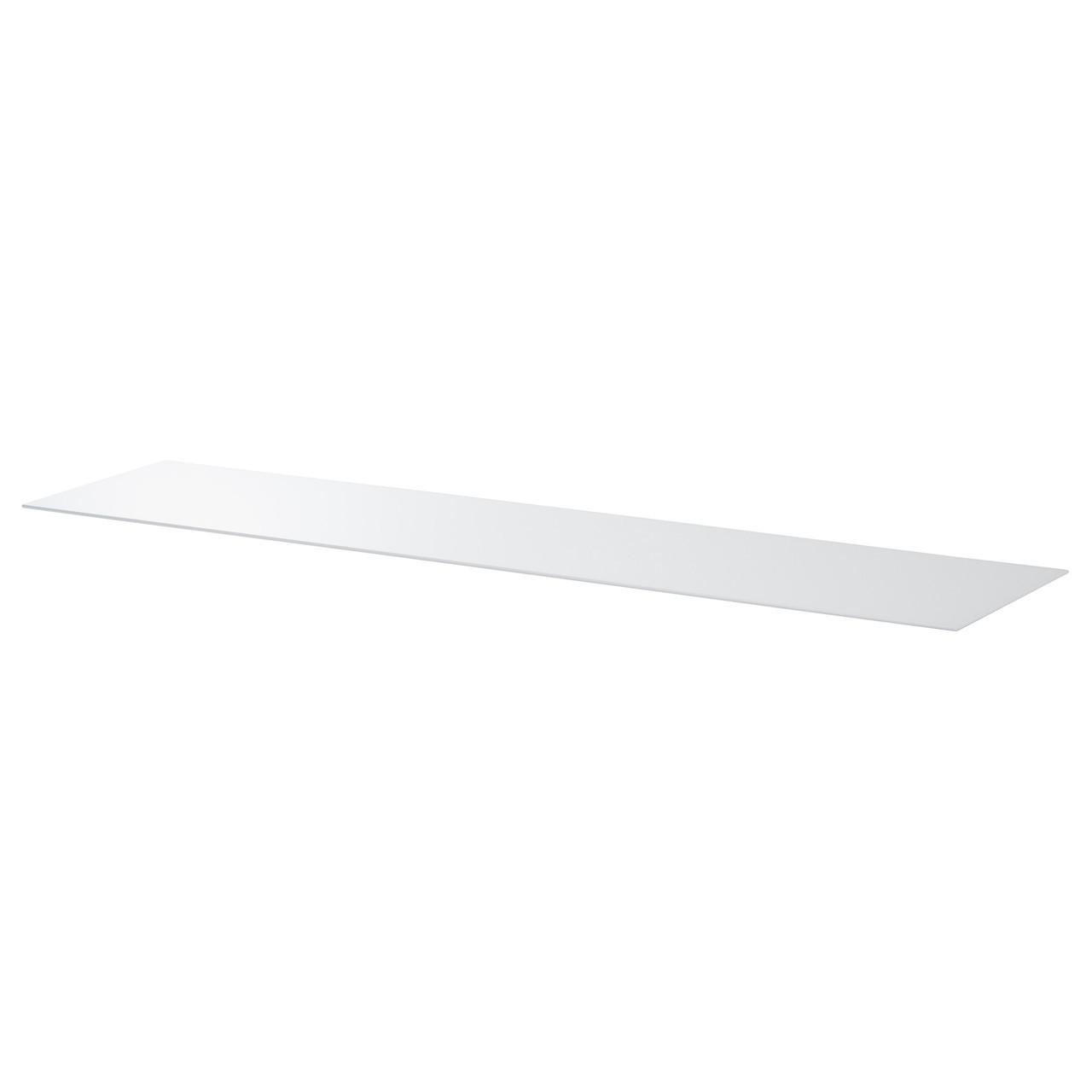 BESTÅ Верхняя панель, стекло белый 201.965.29