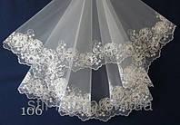Свадебная фата- компьютерная вышивка №05