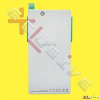 Корпус Sony C6802 XL39h Xperia Z Ultra White (задняя крышка)