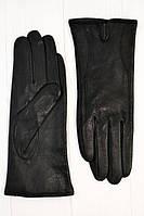 Теплые черные перчатки