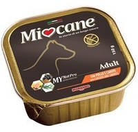 Консервы для взрослых собак Morando Miocane Adult с курицей и морковью 150 г