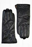 Зимние перчатки  из тонкой козьей кожи