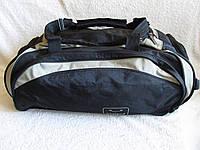 Сумка через плечо дорожная большая спортивная Уимблдон с карманами для обуви 63х29х29см