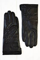 Женские перчатки с  подкладкой из искусственного меха