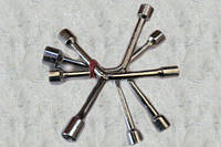 Ключ тройник (трехсторонний) Cr-V, 9 мм-11 мм-13 мм