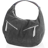 Сумка-баул (хобо) Gala Gurianoff Женская дизайнерская замшевая сумка GALA GURIANOFF (ГАЛА ГУРЬЯНОВ) GG1300-23