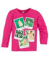 """Детская футболка с длинным рукавом """"Кролики"""" для девочки"""