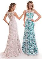 Вечернее нарядное платье для выпускного вечера, свидетельницы, гостьи мероприятия (цвета - в ассортименте)