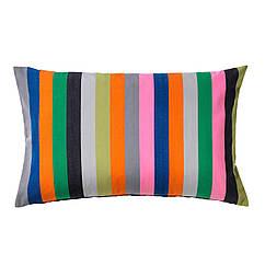 ÅKERGYLLEN Чохол на подушку, помаранчевий, різнобарвний 702.590.67