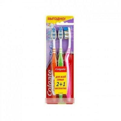 Зубна Щітка ЗігЗаг плюс(середня) 2+1 (8935236000369)  продажа 01c3a7870b430