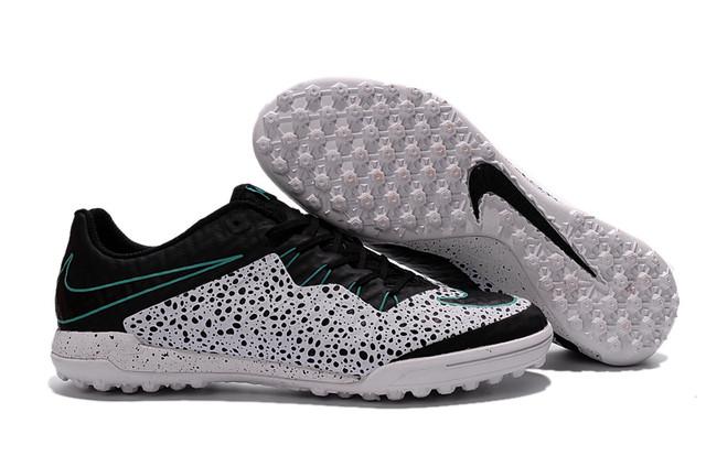 Футбольные сороконожки Nike HypervenomX Finale TF White/Black/Green Glow/White