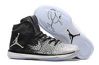Баскетбольные кроссовки Nike Air Jordan 31 (XXX1) White/Black, фото 1