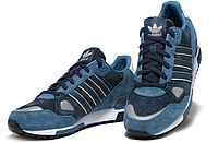 Темно-синие кроссовки Adidas Оriginals ZX750 - 01Z