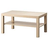 LACK Журнальный столик, белый, bejcowany дуб, имитация 503.190.29