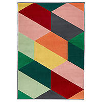 PANDRUP Ковер, короткий ворс, разноцветный