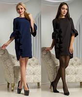 Красивое платье для настоящих леди (черное, синее)