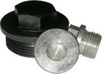 Пробка (заглушка) DIN 7604С для труб резьбовая цилиндрическая с шестигранной головкой и фланцем
