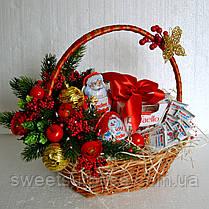 """Новогодняя подарочная корзина """"Для самых послушных"""", фото 3"""