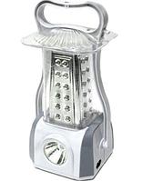 Фонарь лампа аккумуляторная Yajia 5831, 53LED