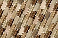 Мозаика для стен из мрамора и стекла Vivacer DAF101