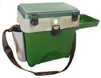 """Ящик для зимней рыбалки """"A-elita"""" с термометром, вместительный, съемные лоток-столик и карман"""