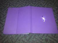 Чехол подставка Deos Swarovski Wave для iPad 2/3/4 фиолетовый