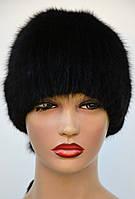 """Женская меховая шапка из ондатры """"Буратино+лиса"""", фото 1"""